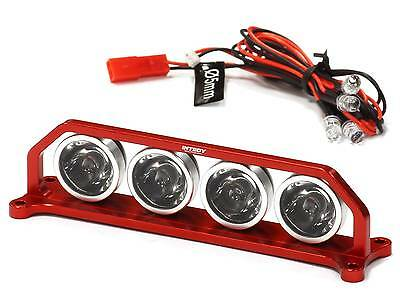 INTEGY Red Billet Machined T4 Realistic Roof Top Sport White LED (4) Light Set