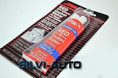 85g RED HIGH TEMPERATURE SILICONE ADHESIVE SEALANT TUBE HEAT RESISTANT 260'C