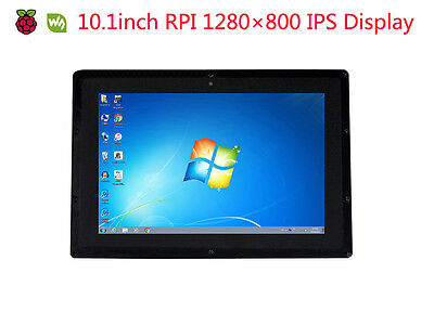 10.1'' HDMI 1280×800 Capacitive IPS Touch LCD for all Raspberry PI&Multi mini-PC