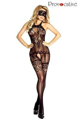 Catsuit Overall Bodystocking ouvert PR4670 Provocative Reizwäsche