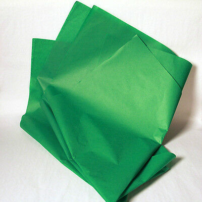 New Festive Green Wrapping Tissue Paper - 480 Sheets!!!