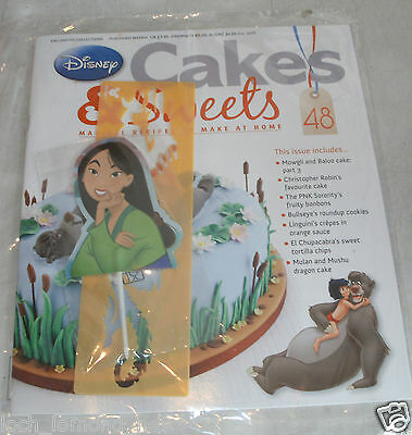Disney Cakes & Sweets Cake Decorating Collection magazine Partwork #48