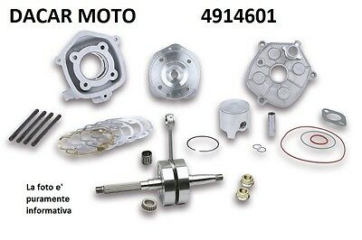 KIT BIG BORE 50 corsa 44mm PIAGGIO ZIP SP 50 2T LC <-2000  MALOSSI 4914601