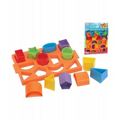 Fun Time - Baby / Toddler Shape Sorter Tray Toy for 12m+