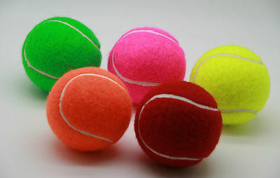Price's Coloured Tennis Balls: 5 Quality High Performance Tennis Balls