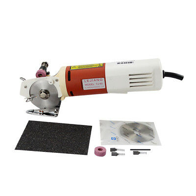 65mm Blade Electric Round Knife Cloth Cutter Fabric Cutting Machine 220V AC 150W