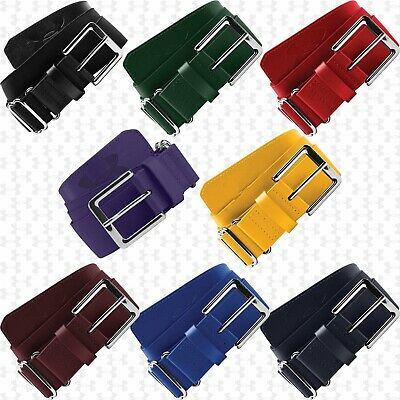 """Under Armour UA ADULT Baseball Softball Belt Fits Up to Size 42"""", 1252084 Colors"""