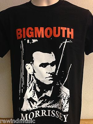 Mens The Smiths Morrissey 'big Mouth' T Shirt