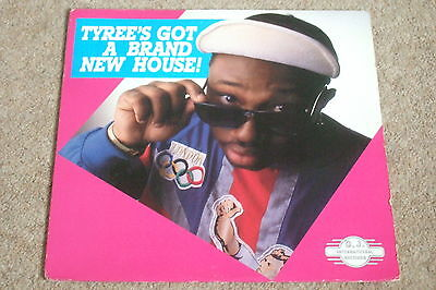 Tyree – Tyree's Got A Brand New House LP        1988   ACID HOUSE!!