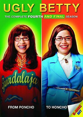 UGLY BETTY COMPLETE SERIES 4 DVD Season Brand New and Sealed UK Original