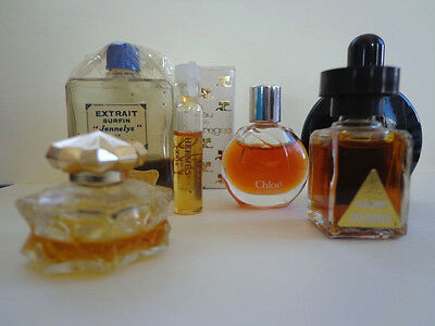 7 Vintage Collectible Perfume Decanters INV2458