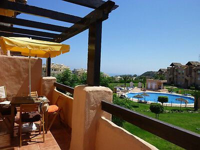 Rent 2 Bedroom Appt in Costa del Sol for £10.50 per person per day x 4 persons.