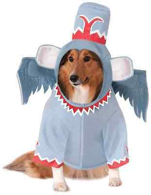 Winged Monkey Wizard of Oz Movie Fancy Dress Up Halloween Pet Dog Cat Costume