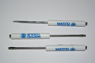 3 Pack Promotional Matco Tools Pocket Flat Screwdriver With Magnetic Tip  Tool