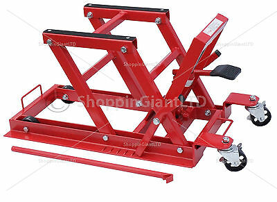 1500lb/680Kg Hydraulic Motorcycle Motor Bike Quad ATV Jack Lift Stand CT1561