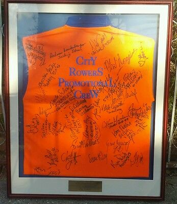 1996 Atlanta Olympic games Signed framed tshirt collectable