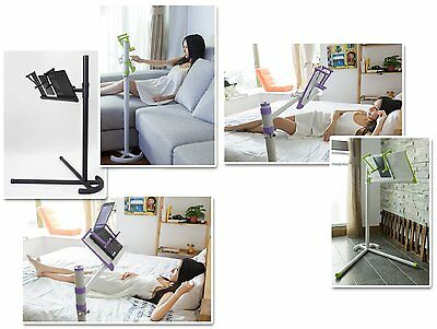 "Height adjust bed/floor stand+Cooling fan fr  laptop(upto 17"")/tablet /iPAD Pro"