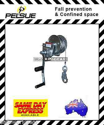 WorkSafeGEAR Pelsue Man-Rated Winches (159 kg)75ft Height Safety
