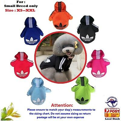 New Small Pet Dog Cat Puppy Warm Sweater Hoodie Coat/clothes Costume Apparel AU