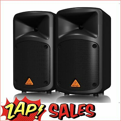 Behringer 500 Watt 8-Ch Portable PA System, MP3, Reverb, Wireless Opt. EPS500MP3