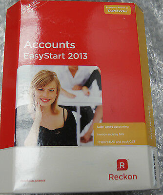 Reckon Accounts EasyStart 2013 Full Version