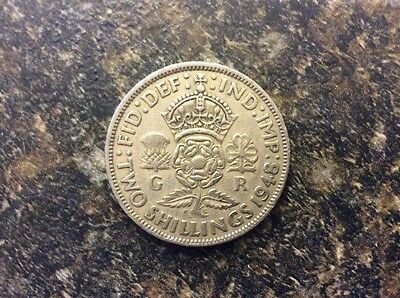 Great Britain Two Shilling Coin 1948