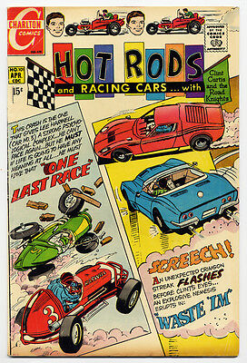 Vintage HOT RODS and RACING CARS #101 (April 1970) CHARLTON COMICS Don Perlin