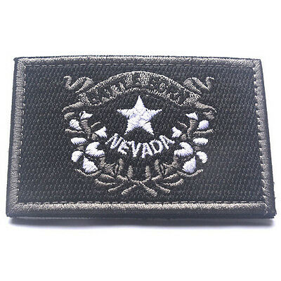 USA Nevada NV STATE FLAG U.S. ARMY EMBROIDERY MORALE BADGE TACTICAL PATCH
