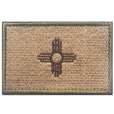 USA New mexico NM STATE FLAG ARMY EMBROIDERY MORALE BADGE TACTICAL PATCH
