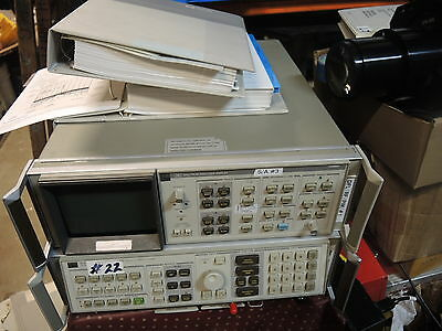 HP/AGILENT 8566B , with OPT. 85660B AND 85662A