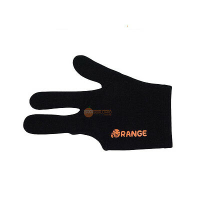5ea Black IBS Billiard Three Fingers Gloves Fits Sport Goods Spandex Snooker
