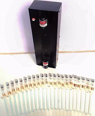 Set of 13 Spectrum Discharged Tubes with Power Supply Full Spectral Analysis Kit