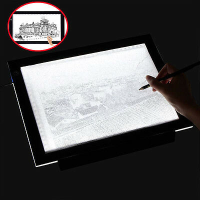 A3 / A4 LED Light Box Grafiktablett Touchpad Tracing Animation Bleistift Skizze