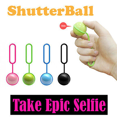 Shutter Ball Bluetooth Wireless Camera Remote Control Apple Android Smartphone
