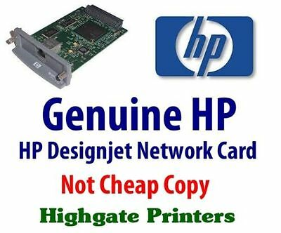 *genuine* Hp Designjet Plotter Printer Network Card, Select Your Model In Advert