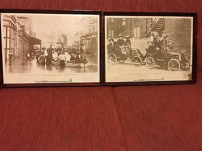 Rare QLD Vintage XXXX Beer Framed Advertising Prints (2)