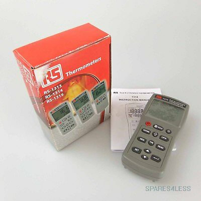 RS Digital Thermometer TES 1314 OVP