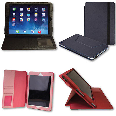 iPad Air 1&2 Portfolio Carrying Case & Stand - 4 colors