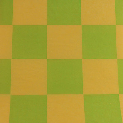 Printed Tissue Paper - Checkerboard Lemon/Lime Pattern - 240 Sheets