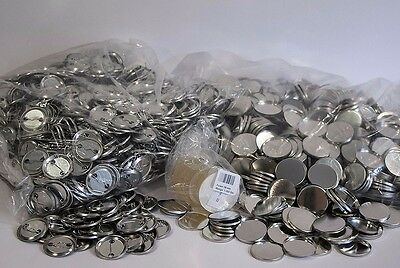 1.000 Buttonrohlinge 38 mm Sicherheitsnadel EU Badgematic Typ 900 *ORIGINALWARE*
