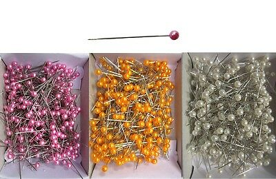 Pearl Head Pins for Garment Fabric Sewing Crafts Sewing Embroidery Set 1-12 Box