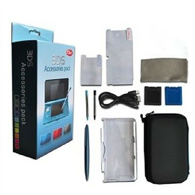 12 In 1 Exciting Accessory Pack - Bundle for Nintendo 3DS