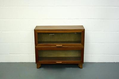 VINTAGE 1950s SMALL HABERDASHERY BOOKCASE CABINET CHEST #1698