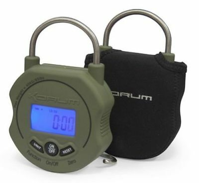KORUM NEW DIGITAL SCALES FREE CASE + BATTERY MAX 85lb FREE DVD