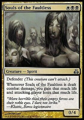Magic Anime Dei Senzacolpa - Souls Of The Faultless Unc Multicolor Guildpact Gpt