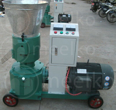 PELLET MILL 15kw  ELECTRIC ENGINE PELLET PRESS 3 PHASE USA STOCK