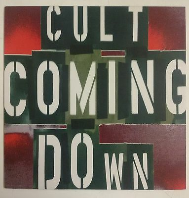 """The Cult Coming Down Maxisingle 12"""" UK 1994"""