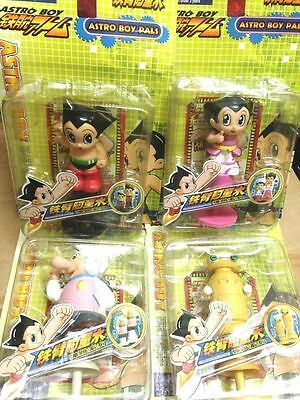Bandai Astro boy Popup jumping brounce action figures x 4 !!
