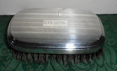 Sterling Silver Art Deco Vanity Clothes Brush