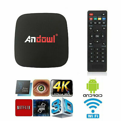 MXQ PRO 4K 1GB Smart IPTV BOX XBMC Android 7.1 Penta Core 64bit WiFi 8GB MiniPC